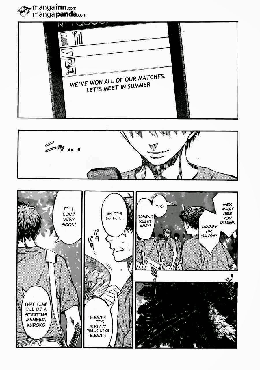 Kuroko no Basket Manga Chapter 214 - Image 18