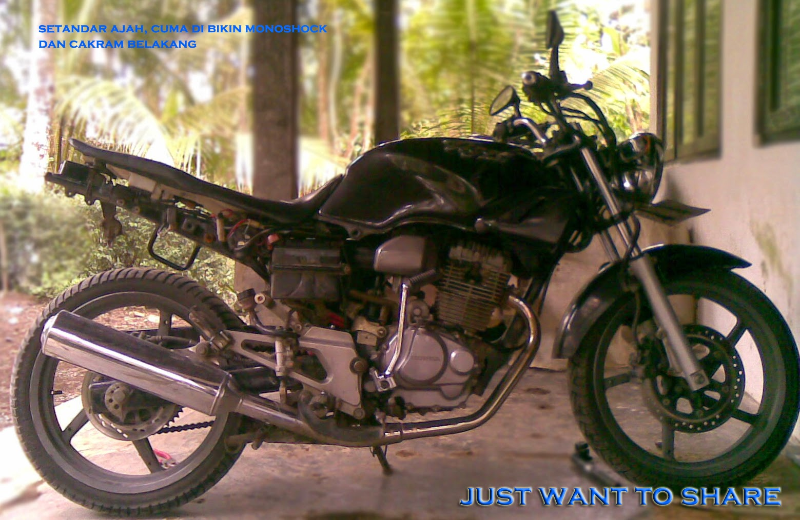 Honda Tiger 2000 Modifikasi Trail