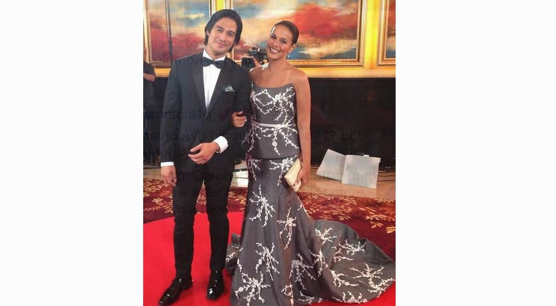 Piolo Pascual and Iza Calzado