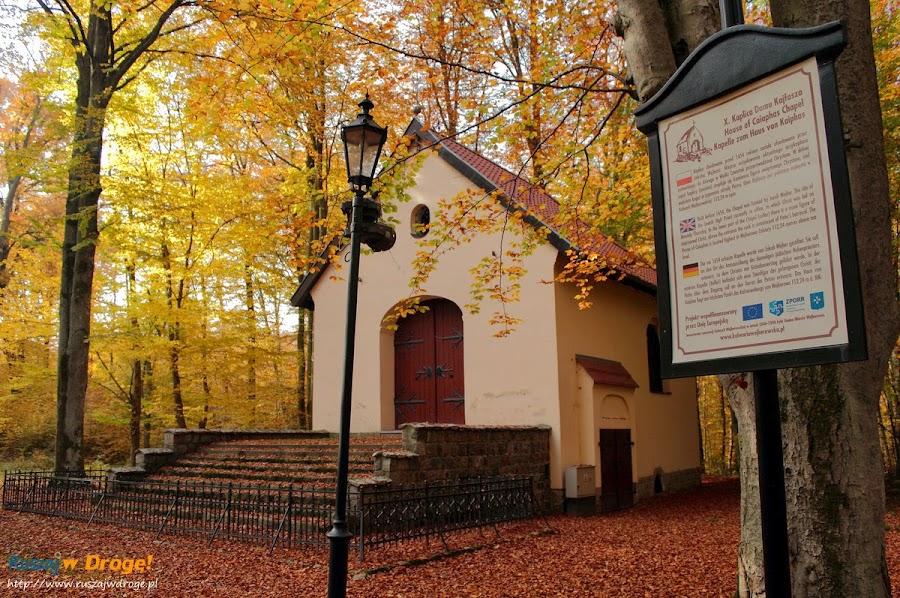 Kalwaria Wejherowska - kaplica Dom Kajfasza