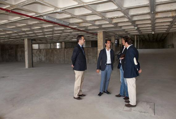 Nuevo aparcamiento y dos pistas de pádel en Fresnedillas de la Oliva