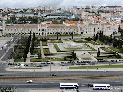 Padrão dos Descobrimentos - Vista da Praça do Império