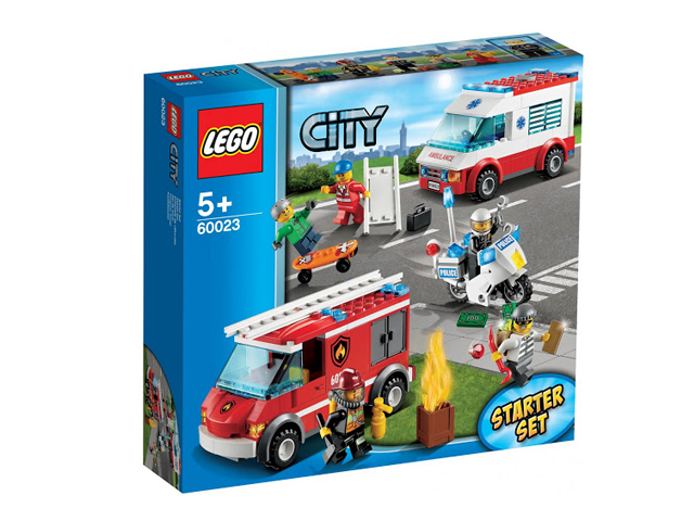 60023 レゴ シティ スターターセット