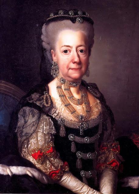 Alexander Roslin - Luise Ulrike von Preußen - Queen of Sweden
