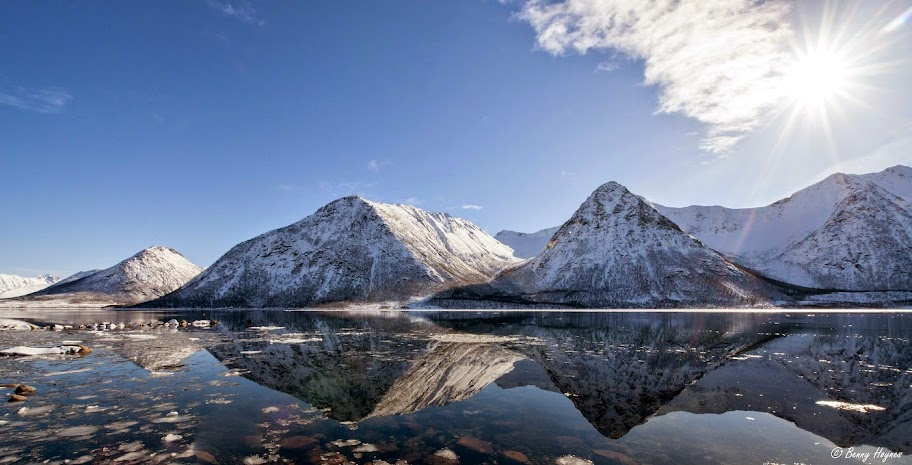 The Most Beautiful View in Northern Norway. Photographer Benny Høynes