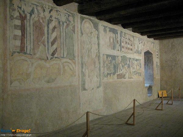 średniowieczne freski w siedlęcinie