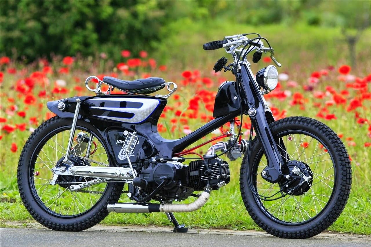 Honda Astrea Grand Modifikasi Retro