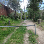 Track beside house (79639)
