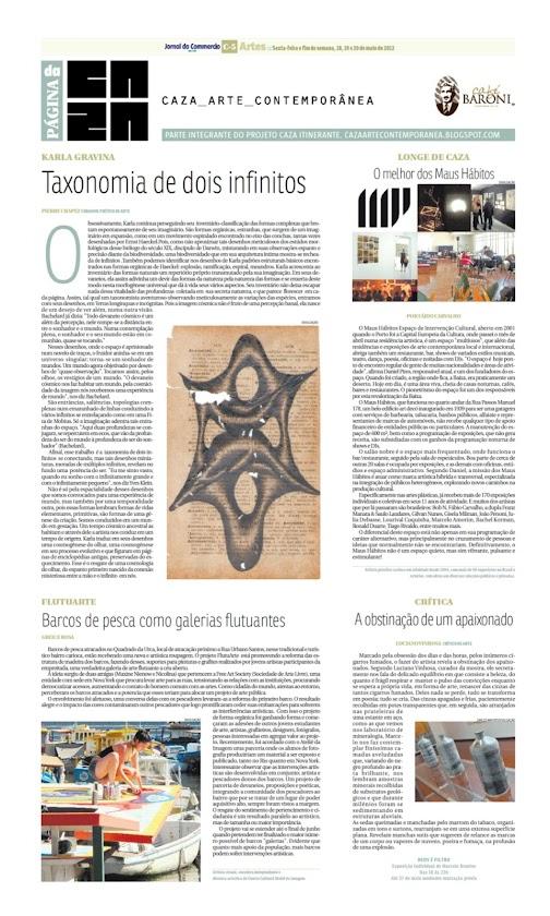Página da Caza - 18 de Maio de 2012