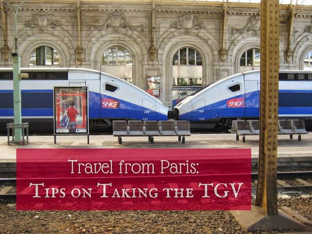 Travel from Paris: Tips on Taking the TGV