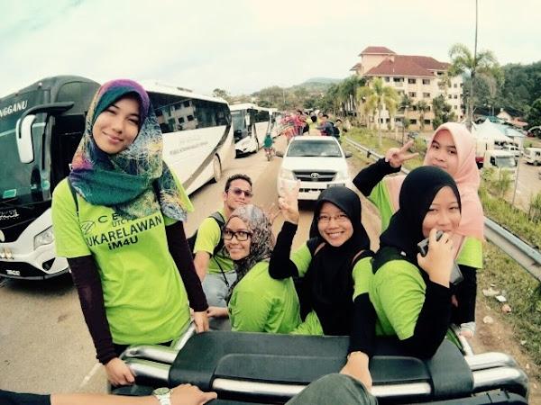 Volunteer work at Kuala Kerai