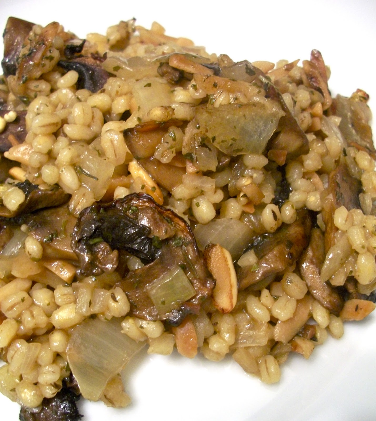Mushroom And Barley Pie Recipe — Dishmaps
