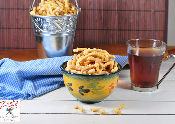 Madhura Seva Sweetened Chickpea Flour Noodles A Traditional Snack
