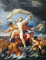 Θεά θάλασσα,μυθολογία.