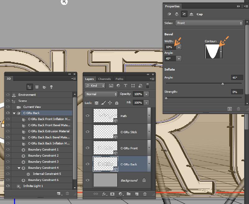 Photoshop - เทคนิคการสร้างตัวอักษร 3D Glowing แบบเนียนๆ ด้วย Photoshop 3dglow24