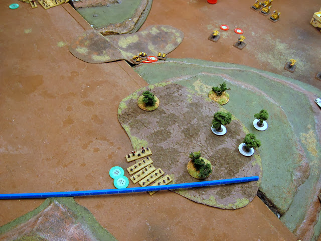 Bikes engage the Guardsmen and they die horribly.