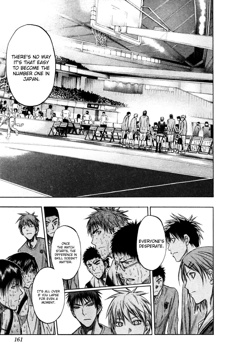 Kuroko no Basket Manga Chapter 143 - Image 11