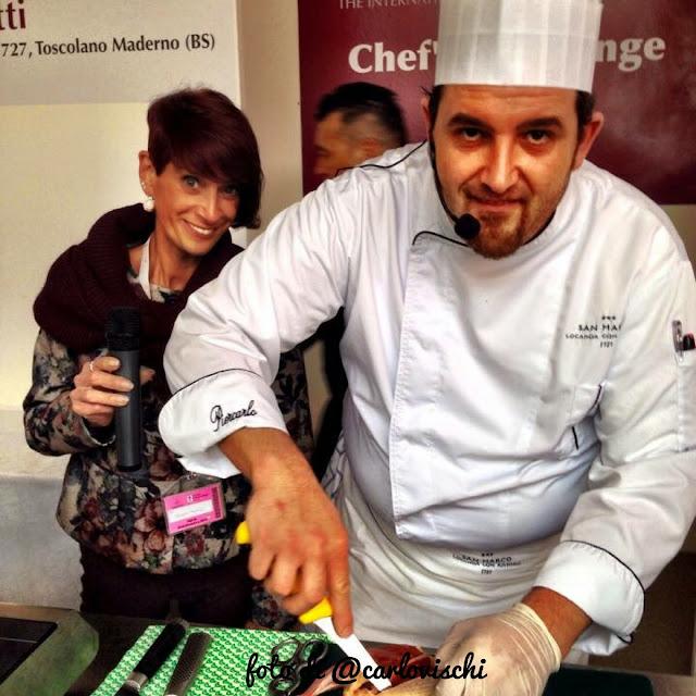 la mia prima esperienza al merano wine festival 2014 con piercarlo zanotti allo chef challanger #mwf14