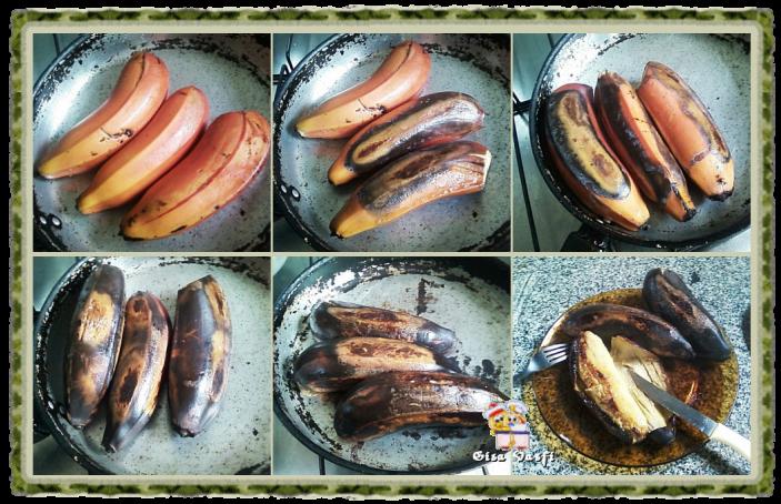 Banana assada 2