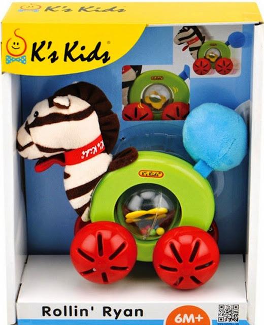 Xe đồ chơi hình ngựa Ryan K'S KIDS rất xinh xắn vừa vặn