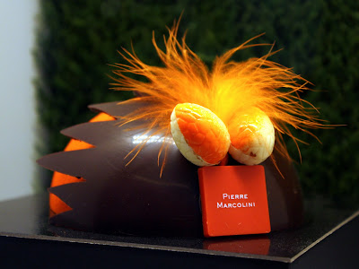 Chocolate at Pierre Marcolini in Brussels