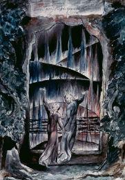 La inscripción sobre la puerta del infierno, por William Blake