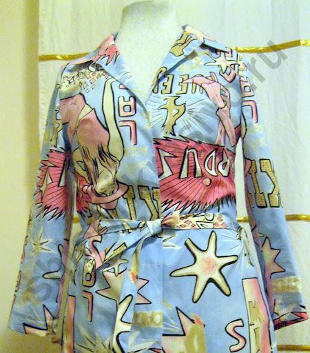 Шьём женское платье-рубашку