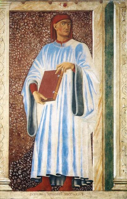 Andrea del Castagno - Giovanni Boccaccio