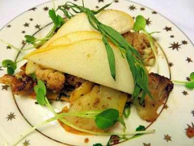 Cauliflower with Brown Butter, Pears, Hazelnuts - Pechluck's Food ...