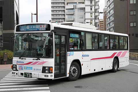 西日本鉄道「いとうづ号」 2504