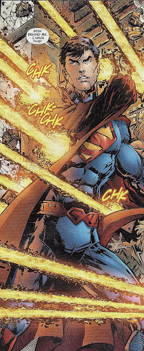 Superman from Superman (vol. 3) #7. By Dan Jurgens & Jesus Merino