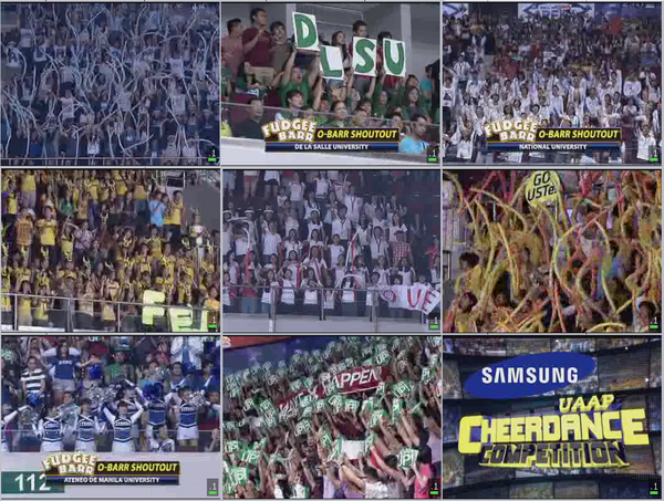 UP Wins UAAP Cheerdance Competition 2012