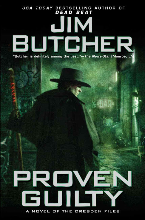 Series Review: Proven Guilty (The Dresden Files, #8), By Jim Butcher Book Cover Art