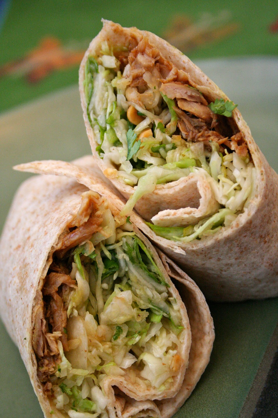 hoisin pork wraps with peanut slow cooked hoisin pork roast meals from ...