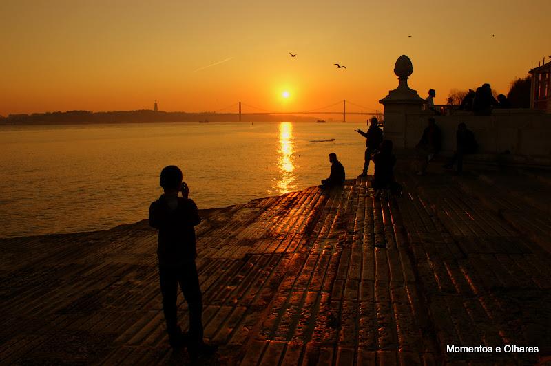 Pôr do Sol em Lisboa
