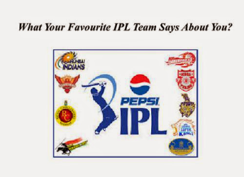 What Your Favorite Ipl Team Says About You