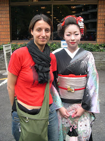 Sara con geisha, Hakone