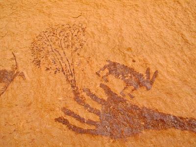 Harvest Scene pictographs