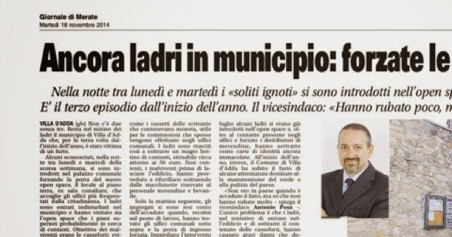 Villa D Adda Giornale Del Paese