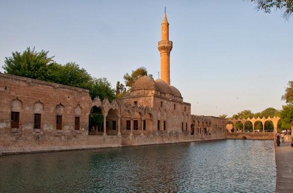estanc d'Abraham i madrassa