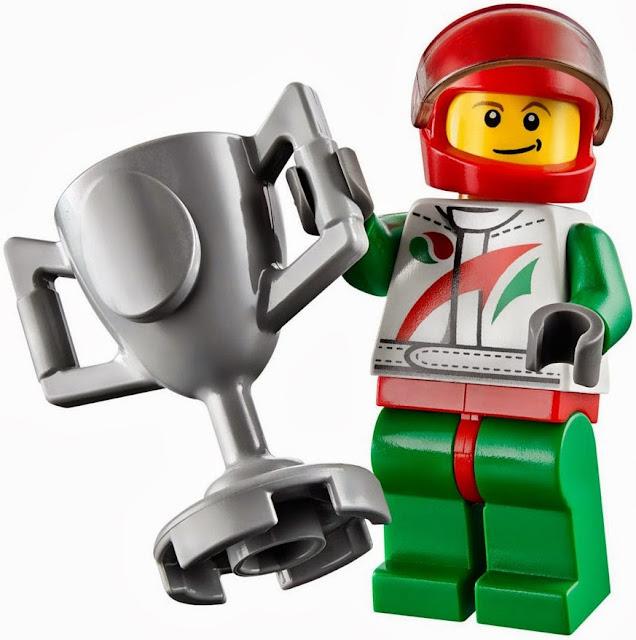 Chân dung nhà vô địch trong bộ xếp hình Lego 60053 Race Car