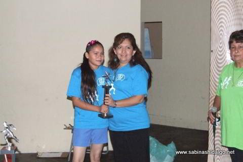 1. Berenice Yahaira Delgado Castillo ganó en la rama femenil