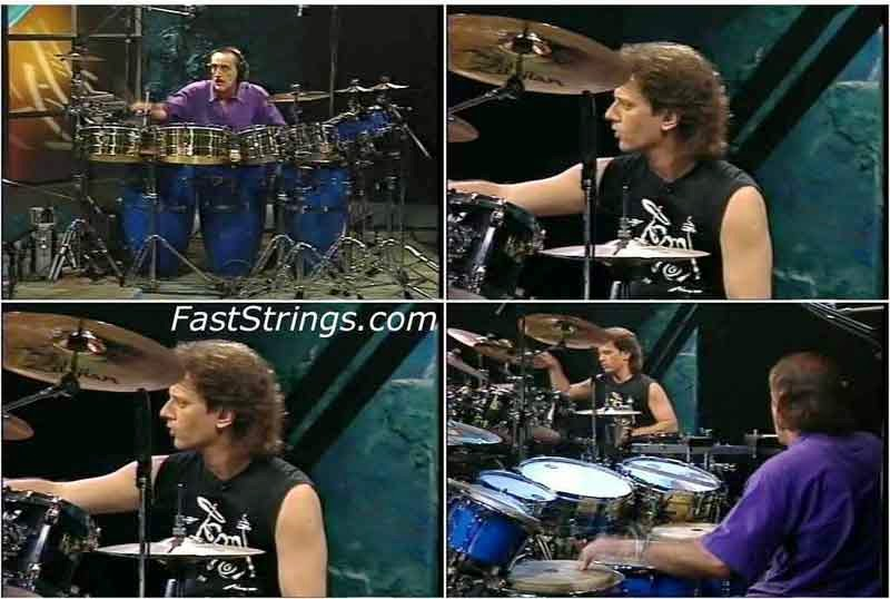 Dave Weckl Walfredo Reyes Sr. - Drums & Percussions Working it Out