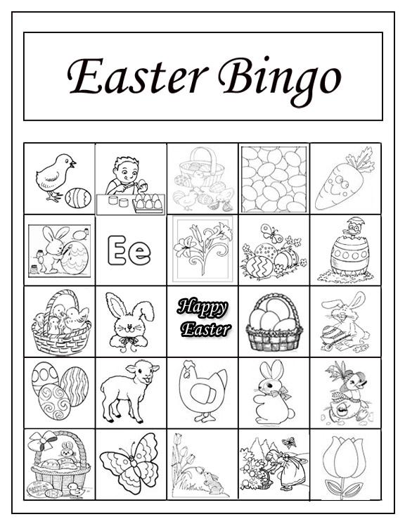 Patties Primary Place Primary Singing Time Bingo