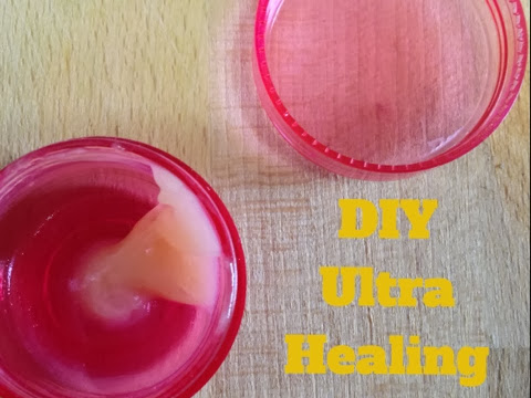 DIY Ultra Healing Lip Balm
