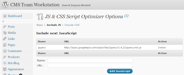 JS & CSS Optimizer WordPress Plugins