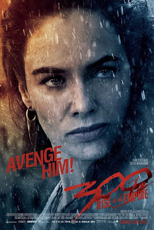 300 RISE OF AN EMPIRE Lena Headey Queen Gorgo Avenge Him!
