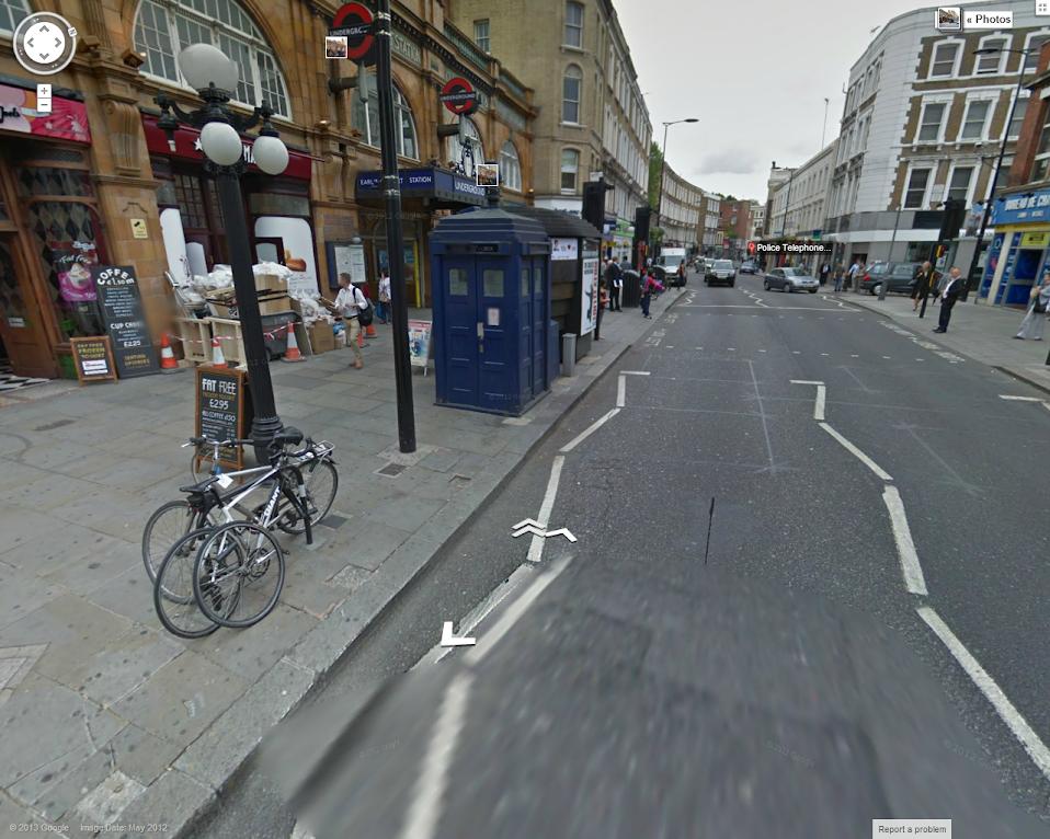 StreetView Tardis