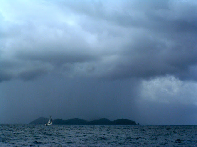 Oh oh! Squall coming straight at us!