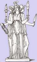 Εκάτη,χθόνια θεότητα,μυθολογία,Ελευσίνια Μυστήρια,Ελληνικό Θρήσκευμα.